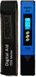 A TDS meter (or EC meter) is a necessary piece of equipment, used to determine how strong the nutrient solution is before you feed it to your plants!