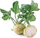 Kohlrabi is actually a member of the cabbage family.