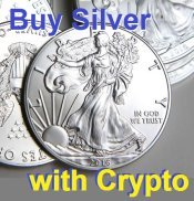 Buy silver with cryptocurrency