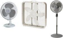 Oscillating fans do not make good exhaust fans, although air circulation is necessary to help each leaf exchange gasses (breath)