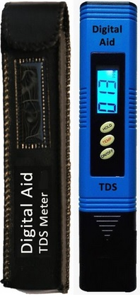 A TDS meter or EC meter is required to know how strong your nutrient solution is when feeding your plants