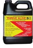 Thrive Alive B1 provides vitamins. The red kind also provides rooting hormones.