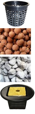 There are alternatives to using clay pellets, such as perlite, vermiculite, pumice, or rockwool