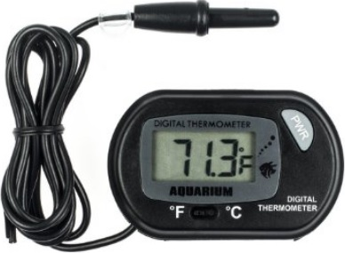 The aquarium digital thermometer is a great item for keeping an eye on the temperature of your nutrient solution