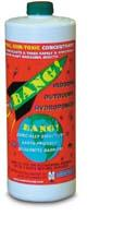 Made from hot peppers and garlic, BANG! is very safe to use....and it makes the whole house smell like you are cooking a steak :)