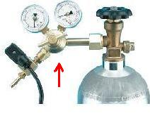 A quality CO2 tank valve will have a pressure regulator gauge, a flow rate control gauge, and a solenoid valve attached to a 3-prong electrical plug.