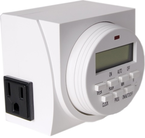 When controlling temperatures manually, digital timers can be set to control the exhaust fans and CO2  (particularly during 'lights out')