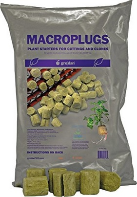 I personally use Rapid Rooter plugs and have better success using them. I've also met many professional growers who use and aggressively stand behind rockwool cubes