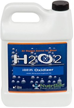 Hydrogen Peroxide for hydroponic systems, another 35% option...one liter