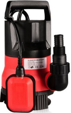 A high pressure water pump of (1/3HP to 1/2HP) is required to force nutrient solution through the tiny holes in spray emitters