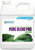 In the grow stage, Pure Blend Pro can be used as a one part fertilizer. When flowering, I highly recommend you use it in combination with Cal-Mag (and any other supplements you prefer)