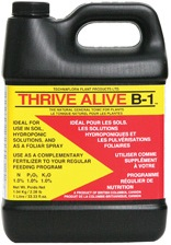 I use it in every drop of water start to finish, including the flush. B1 fuels cell division, drives fast plant growth, lessens transplant shock, and helps with resin production in the last 10 days