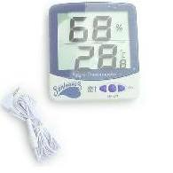 I have digital thermometers in every different garden space I own- they help enormously in the cloning area!